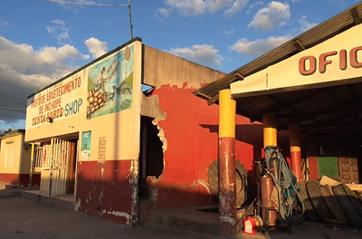 Bicycle shop Beira, Mozambique. Photo: ElephantVoices