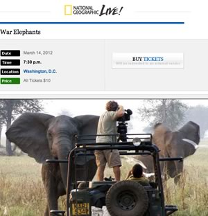 Link to War Elephants on National Geographic.com