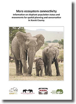 Front page Mara elephant report 2016