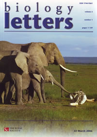 Biology letters